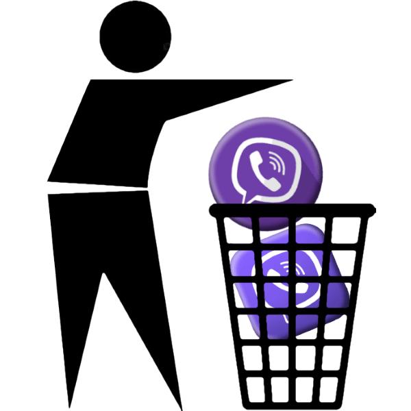Как удалить Viber телефона
