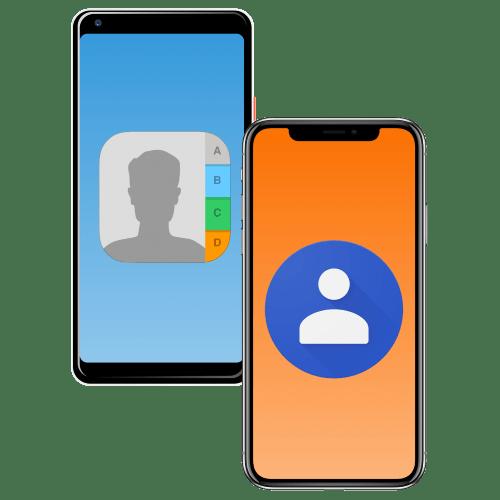 Как перенести контакты с телефона на телефон