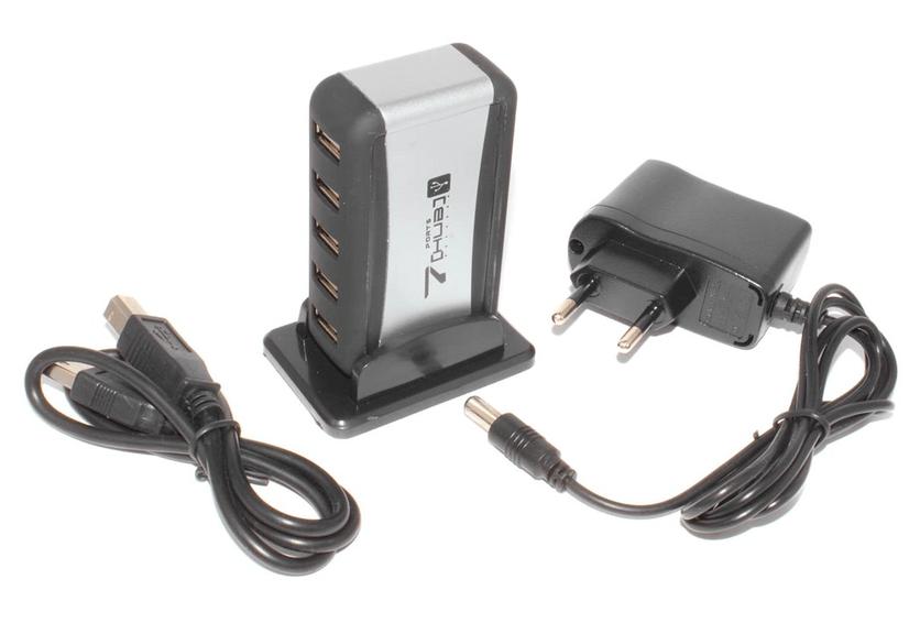 Разветвитель USB с дополнительным питанием для подключения WD My Passport Ultra в ОС Windows 10