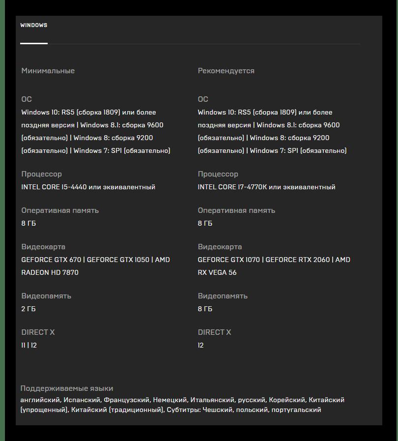 Системные требования игры Metro Exodus