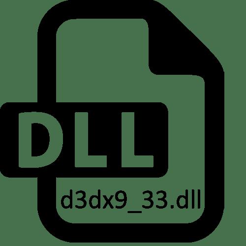 Скачать d3dx9_33 dll