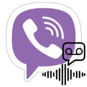 Как отправить голосовое сообщение в Вайбере