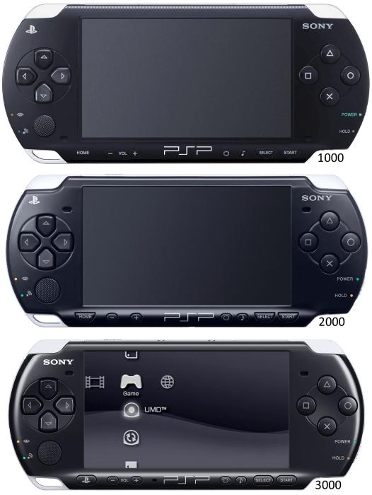 Форм-фактор PSP для определения варианта прошивки