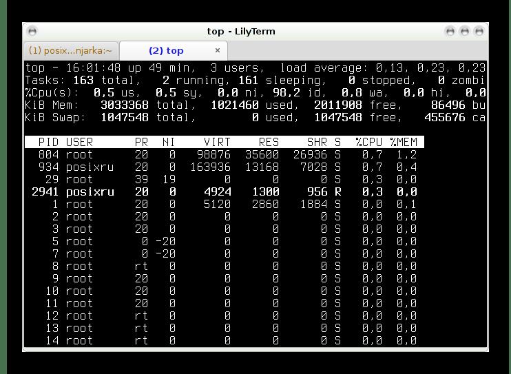 Использование LilyTerm в качестве эмулятора терминала для Linux