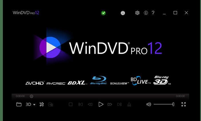 Использование программы Corel WinDVD Pro для воспроизведения DVD на компьютере