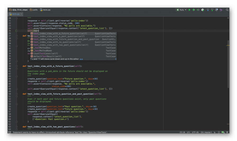 Использование программы PyCharm в качестве среды разработки для языка Python