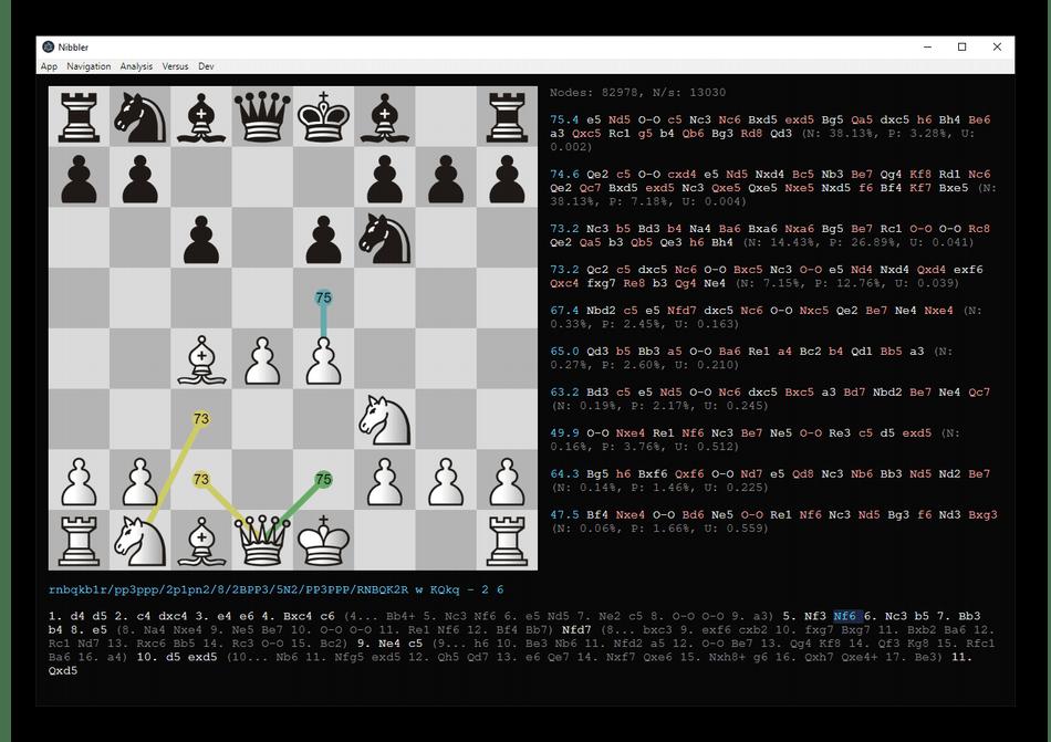 Использование шахматного движка Leela Chess Zero для анализа партий