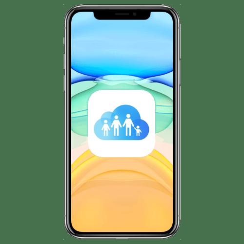 Как настроить семейный доступ на iPhone