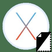 как скрыть файл в mac os