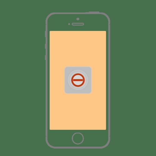 Как убрать кнопку с экрана на айФоне