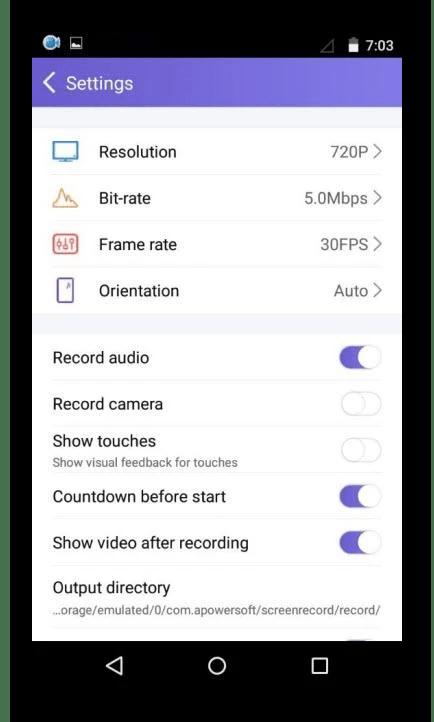 Использование программы Apowersoft Screen Recorder для записи видео с экрана телефона
