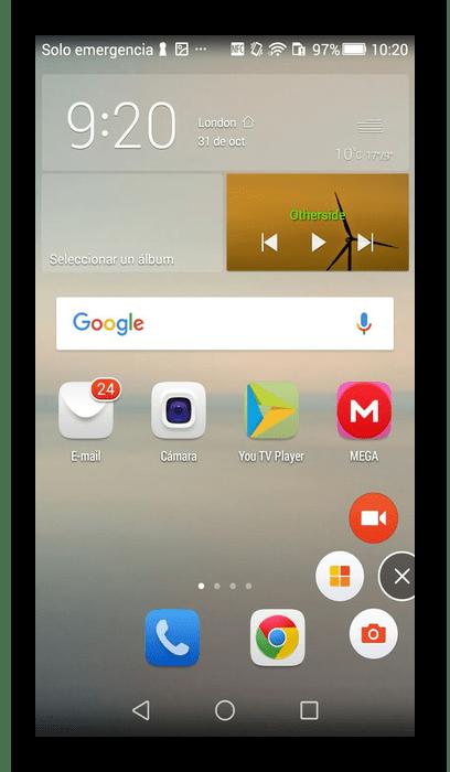 Использование программы Mobizen для записи видео с экрана телефона