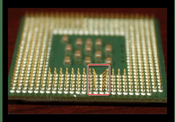 Погнутые ножки у процессора