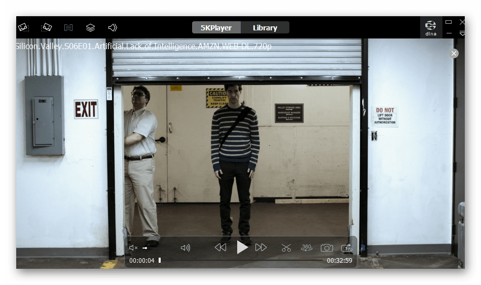 Программа для воспроизведения видео в MP4 VLC 5KPlayer