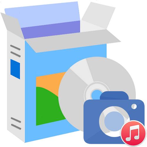 Программы для наложения музыки на фото