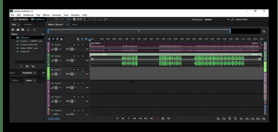 Использование программы Adobe Audition для улучшения звука микрофона