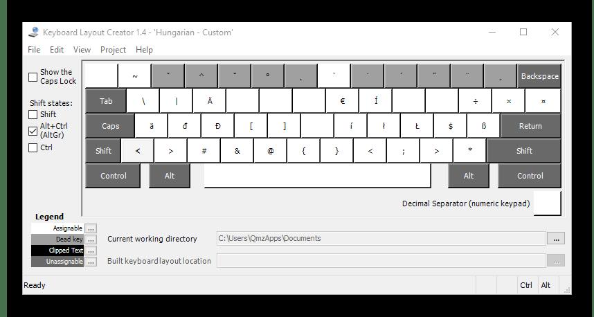 Использование программы Microsoft Keyboard Layout Creator для переназначения клавиш на клавиатуре