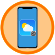 Как настроить погоду на айФоне