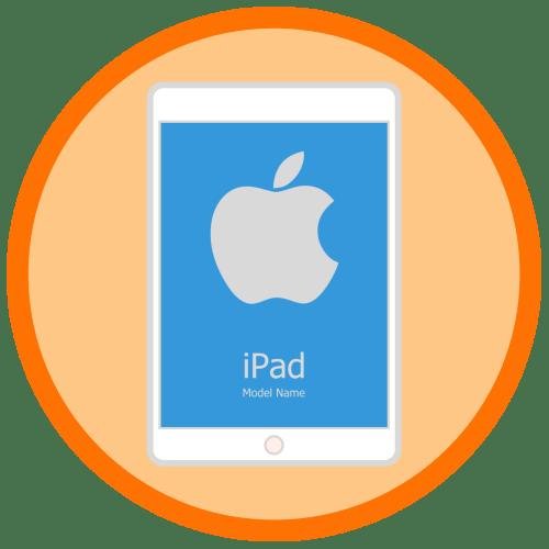 Как определить модель iPad