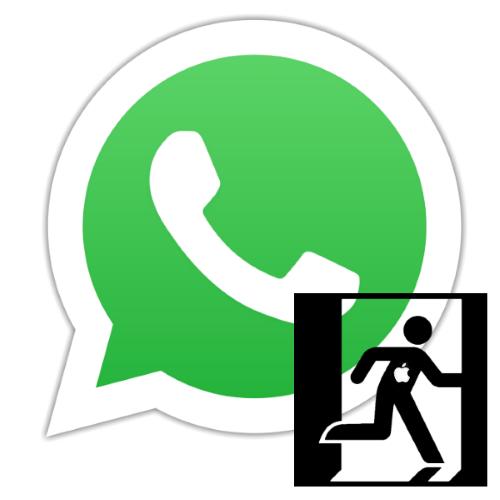 Как выйти из ВатсАпа на айФоне