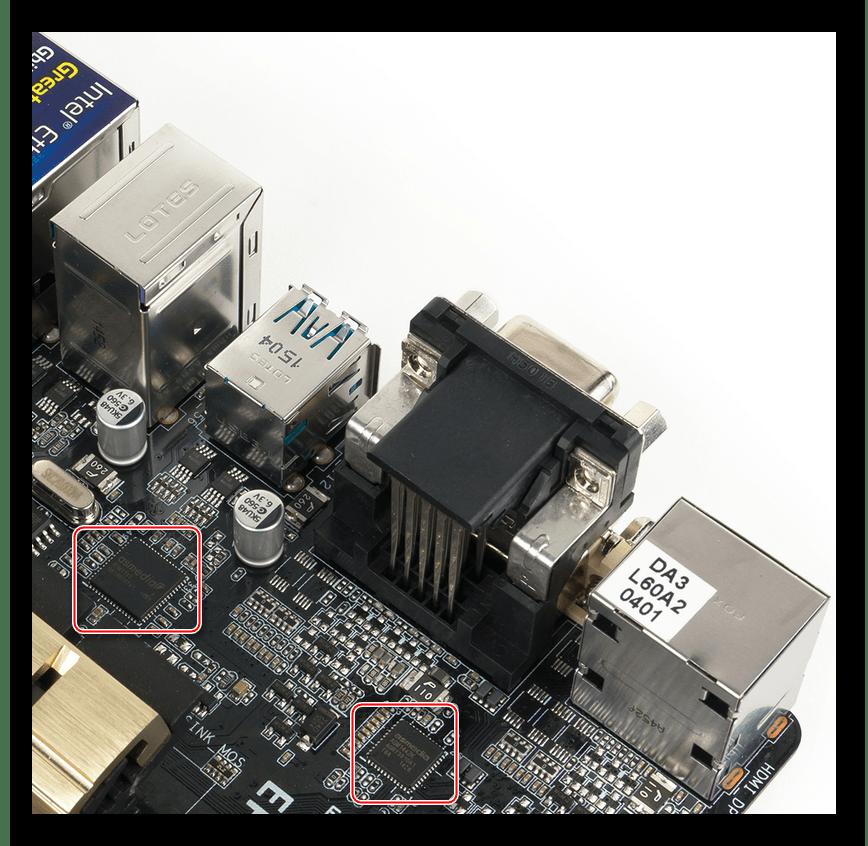 Контроллер USB материнской платы Asus Z97-AUSB 3.1