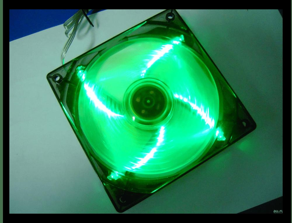 Кулер с LED подсветкой