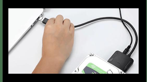 Подключение внутреннего жёсткого диска через переходник SATA-USB к роутеру