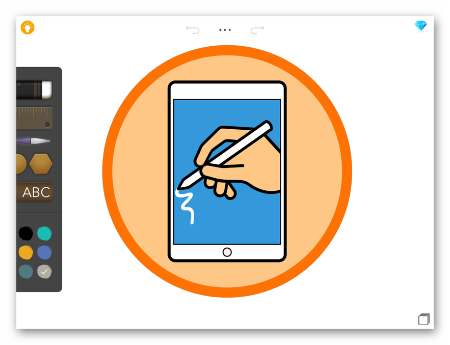 Приложение для рисования на iPad Drawing Desk