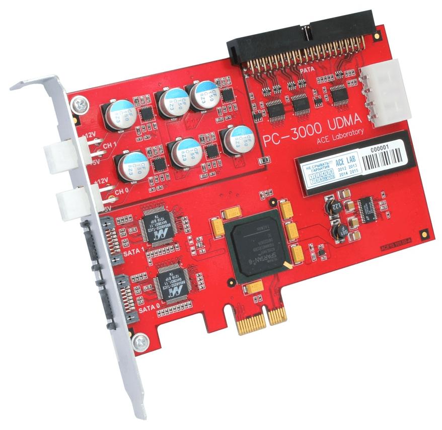 Программно-аппаратный комплекс PC-3000 UDMA
