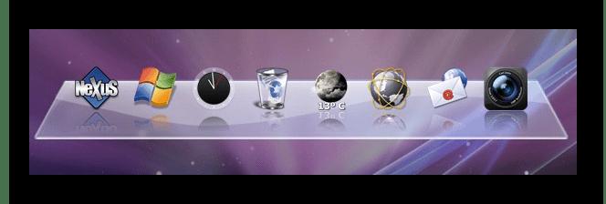Программы для быстрого запуска программ Winstep Nexus Dock