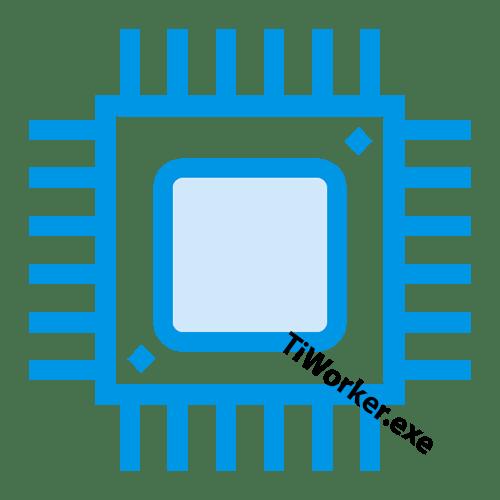 tiworker.exe грузит процессор