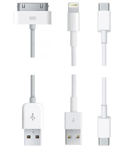 Виды USB кабелей для подключения iPad к iTunes