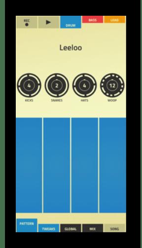 Интерфейс приложения Figure на Айфон