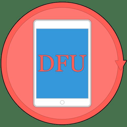 Как перевести iPad в режим восстановления DFU