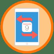 Как поменять дату в iPad