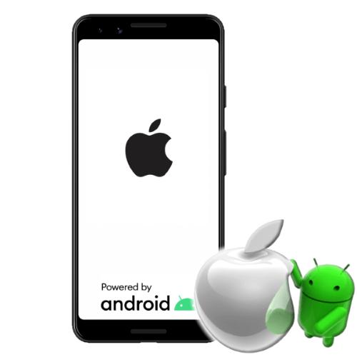 Как сделать iOS из Андроида