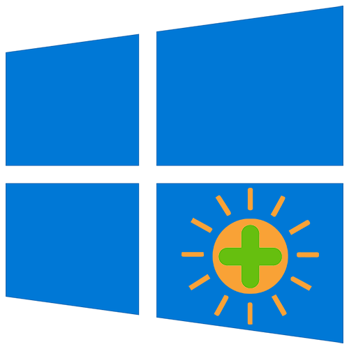 Как увеличить яркость на ноутбуке с Windows 10