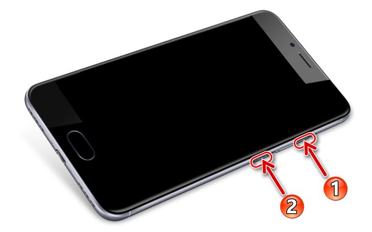 Meizu M5s как войти в среду восстановления (рекавери) смартфона