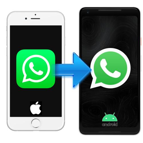 Перенос чатов WhatsApp с iPhone на Android