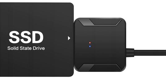 Подключение переходника SATA-USB к SSD