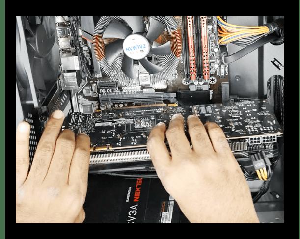 Проверка подключения видеокарты на компьютере