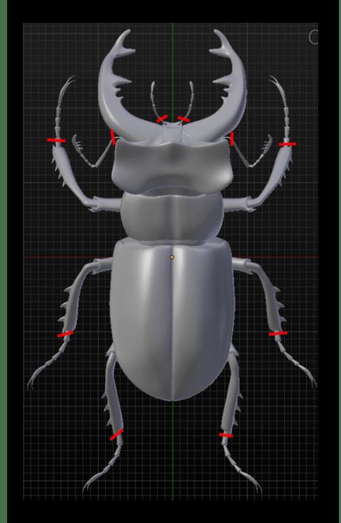Удаление тонких частей объекта перед трехмерной печатью в программе Blender