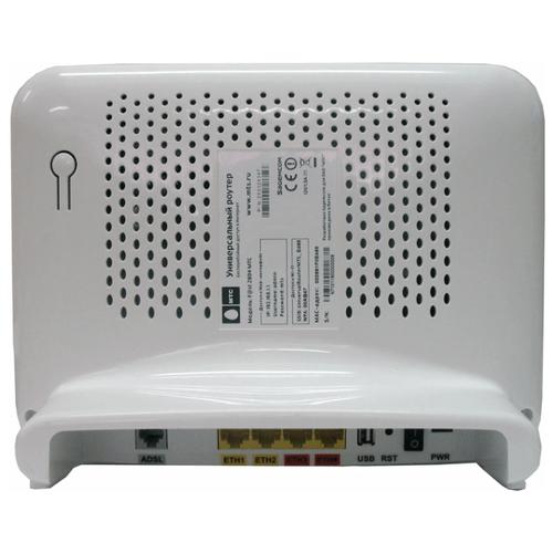 Внешний вид задней панели маршрутизатора Sagemcom F@st 2804 от МТС