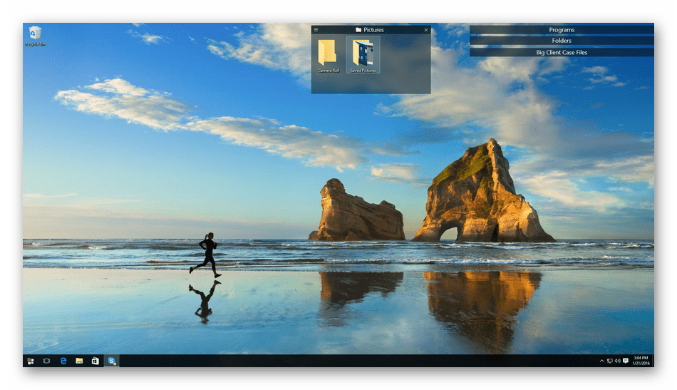 Использование программы Stardock Fences для настройки Windows 10
