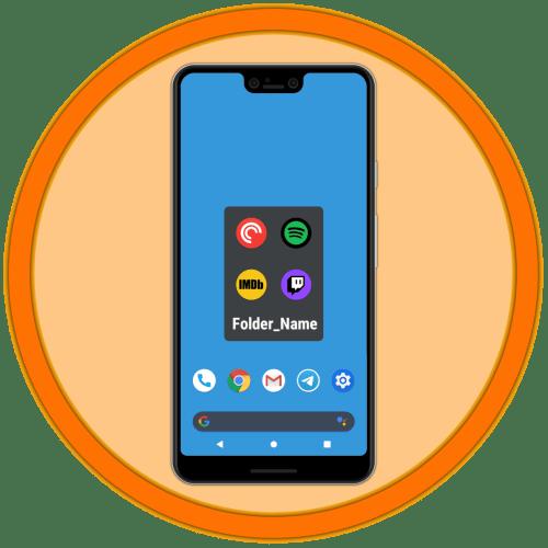 Как переименовать папку на Андроиде