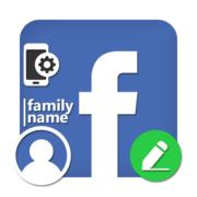 Как поменять фамилию в Фейсбук в телефоне