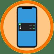 Как посмотреть заряд AirPods в iPhone