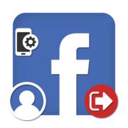Как выйти из Фейсбука на телефоне