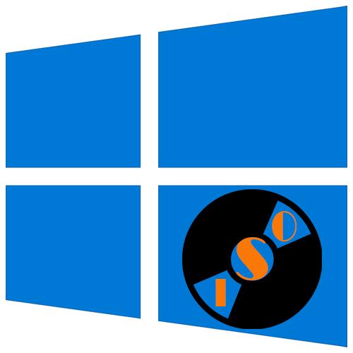 Как смонтировать iso образ в Windows 10