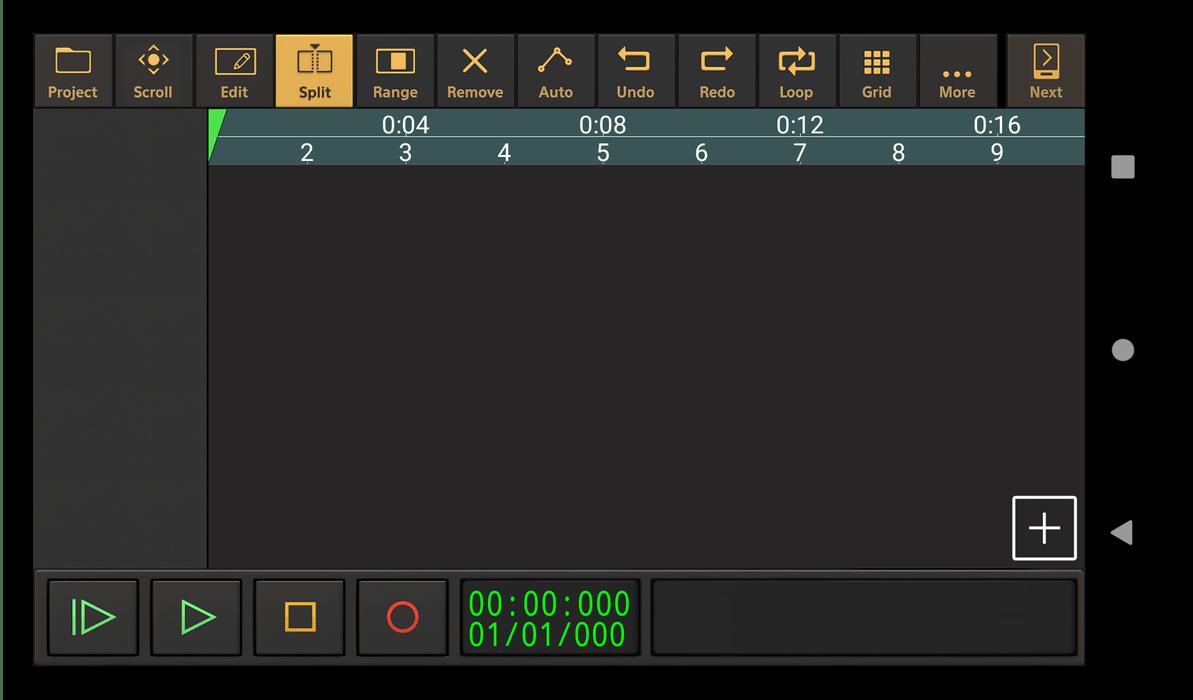 Приложение для записи песен Audio Evolution Mobile Studio